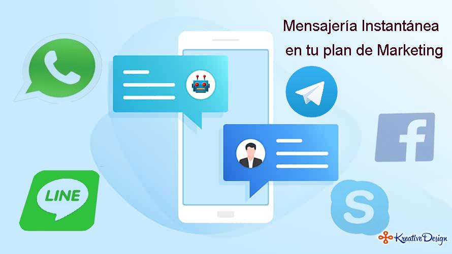 Mensajería instantánea en tu plan de marketing