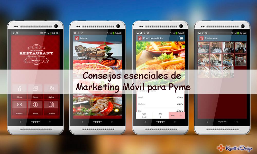 Consejos esenciales de Marketing Móvil para Pyme