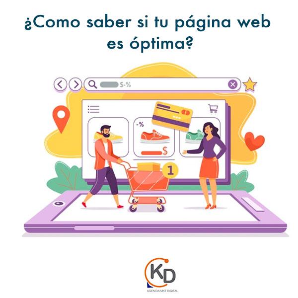 ¿Cómo saber si tu página web es óptima y profesional?