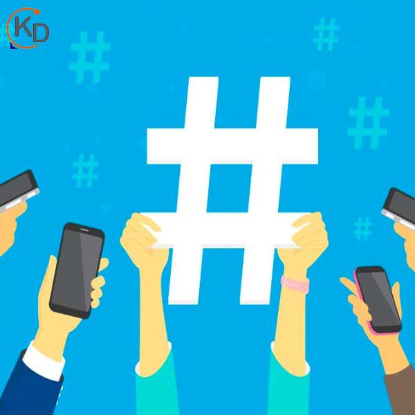 usar hashtag en redes sociales
