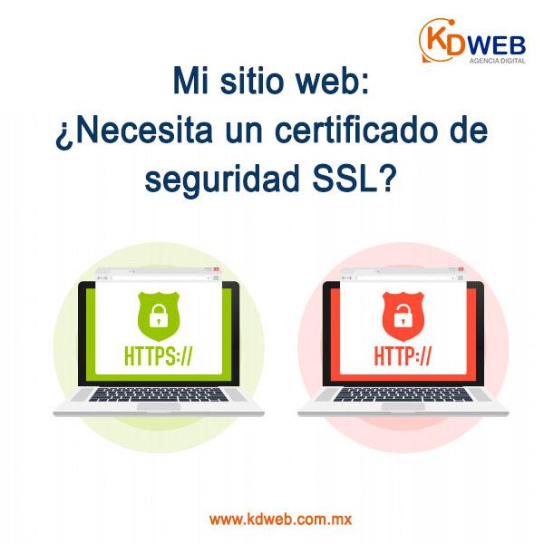 certificado SSL web